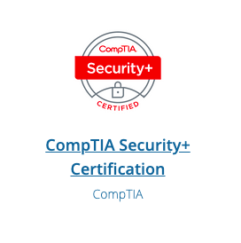 Comptia S+ Certification